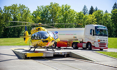 Helicopter flies on biofuel for the first time