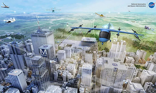 NASA started testing a flying cab